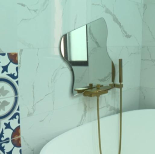 99m²简陋出租屋变身法国电影片场(浴室篇)