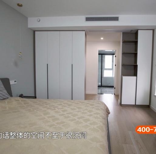 178m²陈旧欧式老房变身现代简约新空间,简单而奢华的都市风情(主卧)