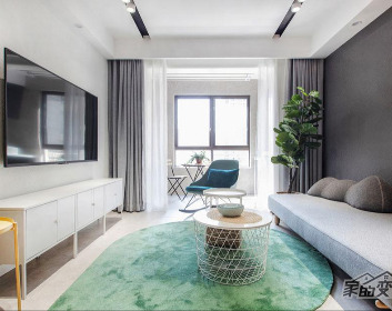 【92平现代简约】清雅优质的现代居所,温馨而舒适的小家